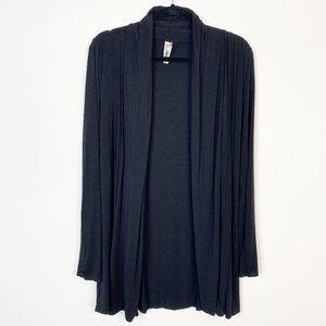 KISCHE Open Cardigan black XL